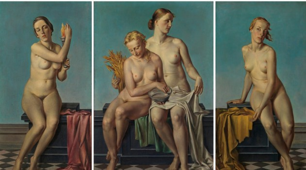 Chaos and Classicism Exhibition: Art in France, Italy & Germany