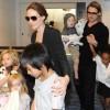 "Angelina Jolie & Brad Pitt Visit Tokyo For Brad's ""Moneyball"" Premiere"
