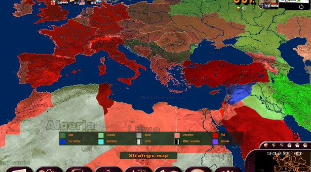 Release Of Masters Of The World, Geopolitical Simulator 3