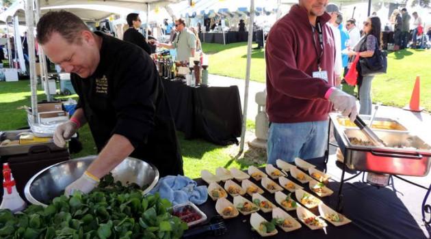 San Diego Bay Wine and Food Festival grand tasting a grand slam