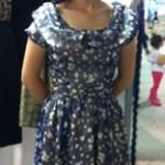 Pretty Blue Flowes dress 2