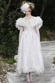 Chanel Couture Spring 2013 via style.com