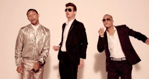 Pharrell Williams, Robin Thicke, and T.I.
