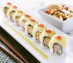 Mango Lobster Roll Courtesy RA Sushi